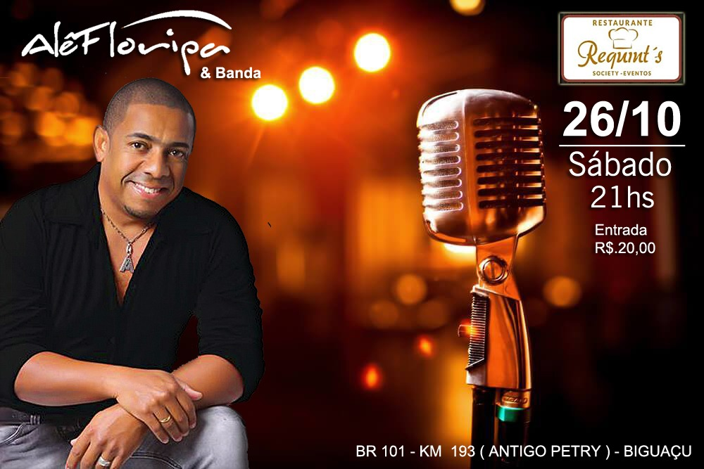 SHOW NO RESTAURANTE REQUINT´S
